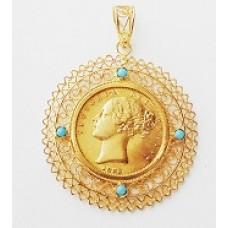 medalha com libra 201